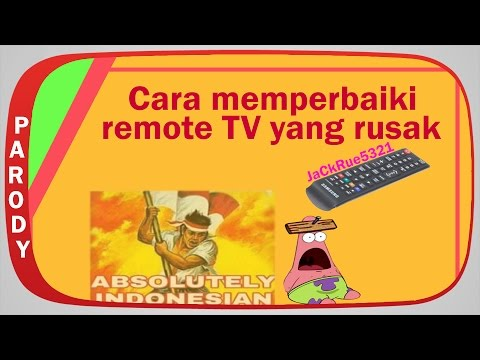 Cara Memperbaiki Remote Tv