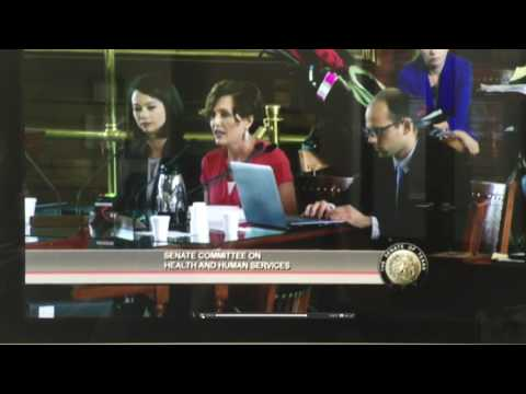 Texas senate committee testimony Protect MDCP Fragile Kids