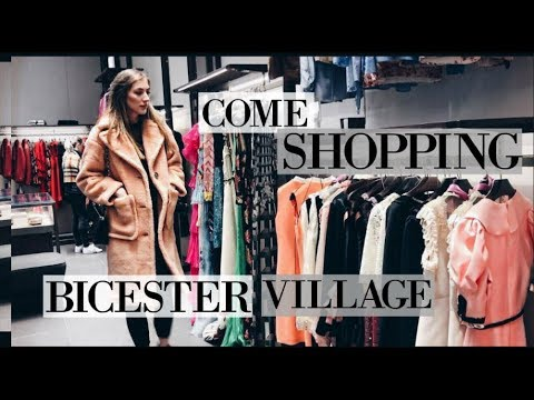 COME SHOPPING AT BICESTER VILLAGE WITH ME - LUXURY SHOPPING