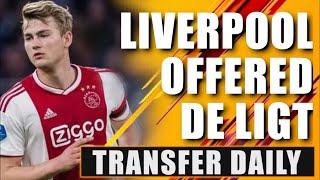 Liverpool 'close' to Matthijs de Ligt DEAL? Transfer Daily