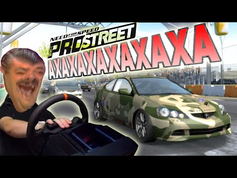 ГОНЩЕГ ОТ БОГА! - Need for Speed ProStreet наконец-то заработал нормально!