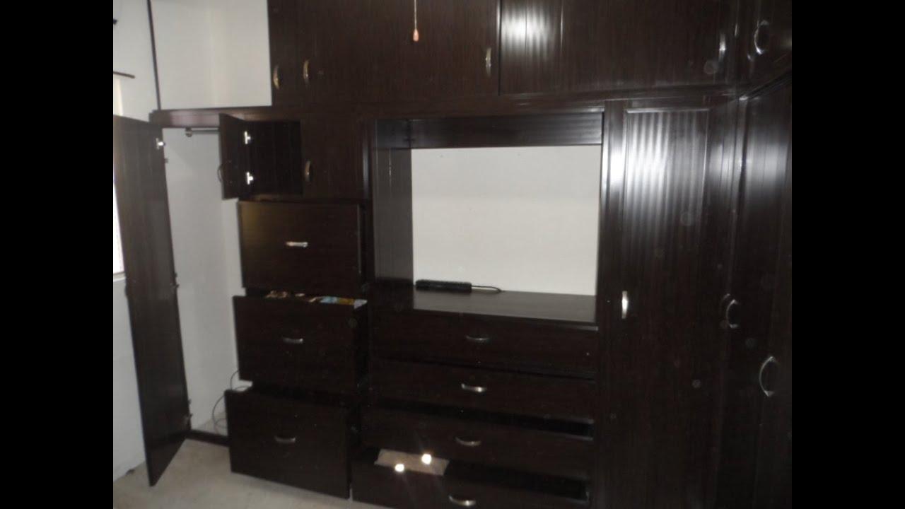 El dise o de closet de pvc ideal para su hogar youtube for Closet con espacio para tv