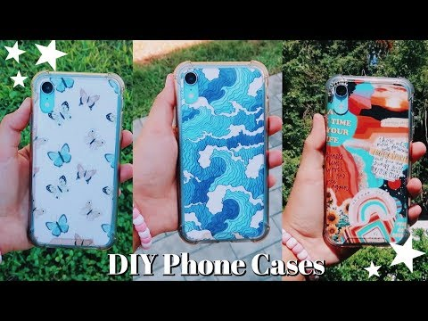 DIY Aesthetic Phone Case Designs | Emma Marie