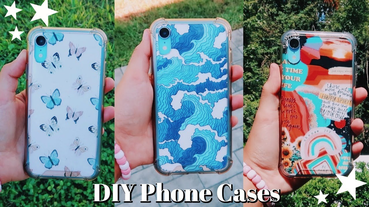 DIY Aesthetic Phone Case Designs | Emma Marie - YouTube