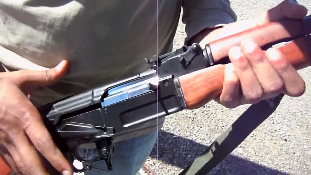 Ak 47 Bolt Polishing Chrome Luster Youtube