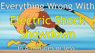 Everything Wrong With Electric Shock Showdown (PokéSins)