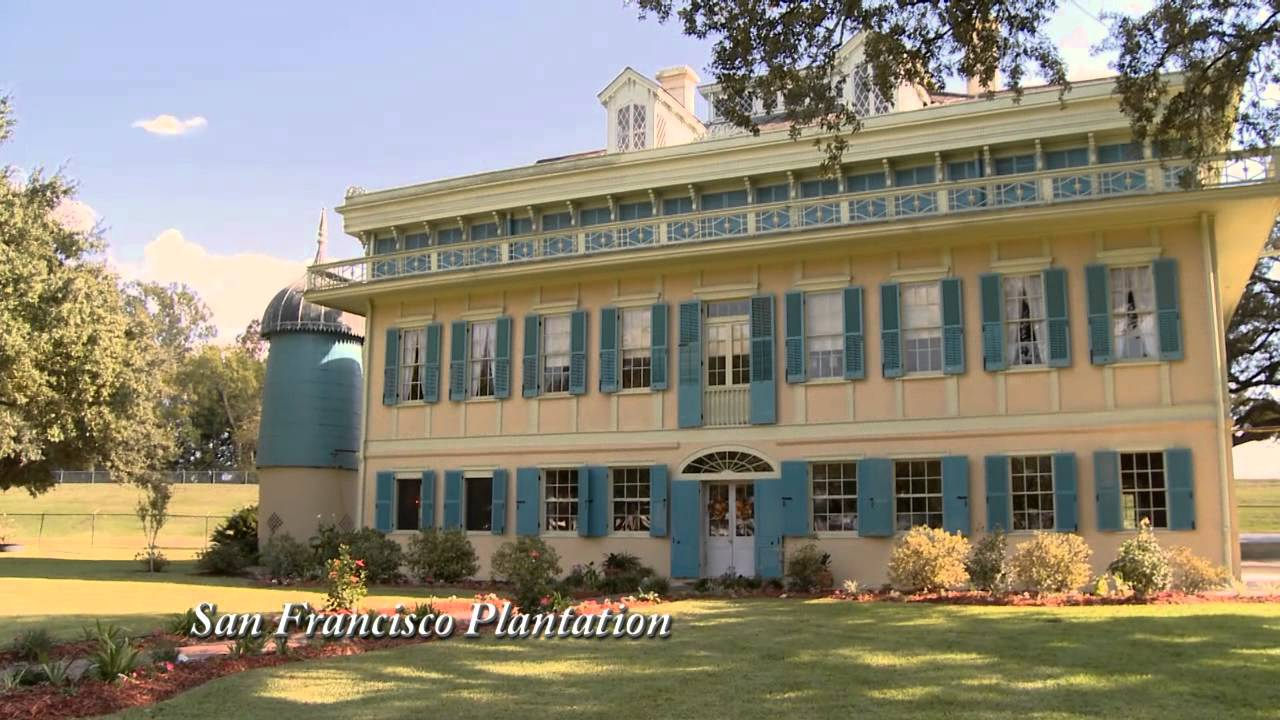 New orleans plantation country tour san francisco for San francisco mansion tour