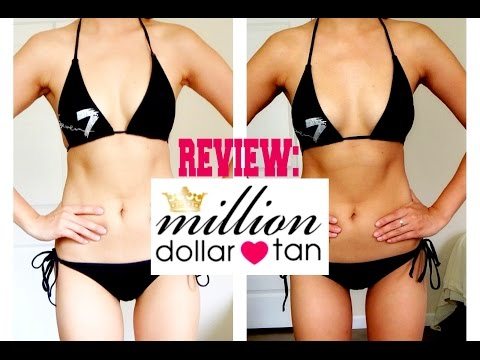 Best Self-Tanner: Million Dollar Tan (EXTREME Lotion) + Promo Code | Now&jenn