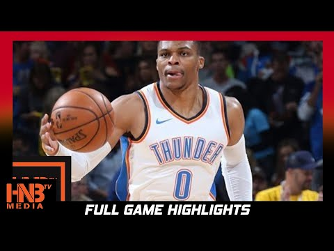 Oklahoma City Thunder vs Minnesota Timberwolves Full Game Highlights / Week 2 / 2017 NBA Season
