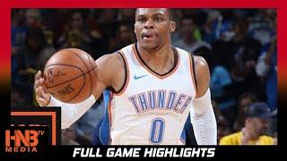 Oklahoma City Thunder vs Minnesota Timberwolves Full Game Highlights / Week 2 / 2017 NBA Season