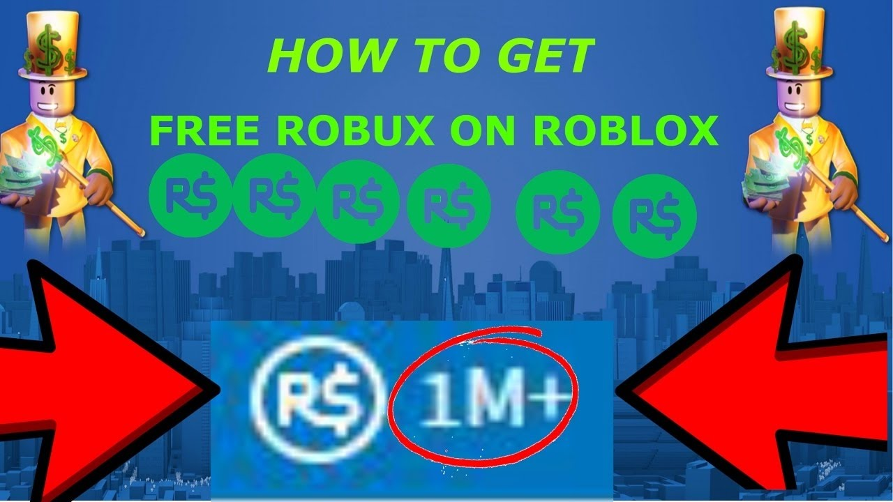 NEW ROBLOX BUTTON GIVES 1M+ ROBUX - YouTube