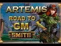 SMITE! Artemis, Algun dia seremos gm xd! Road to GM Duel #40
