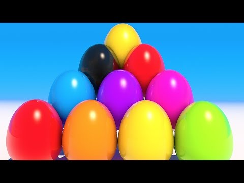 Thumbnail: Teach Colors with Colorful eggs and lollipops ice cream