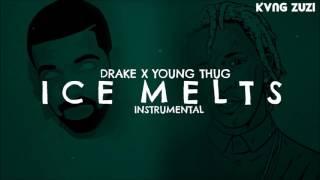 "Drake (feat. Young Thug) - ""Ice Melts"" | Instrumental | Prod. KVNG Zuzi"