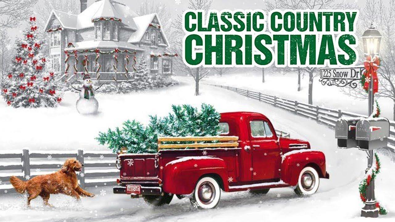 Classic Country Christmas Music Carol Songs - Merry Country Christmas Songs - Christmas Music ...
