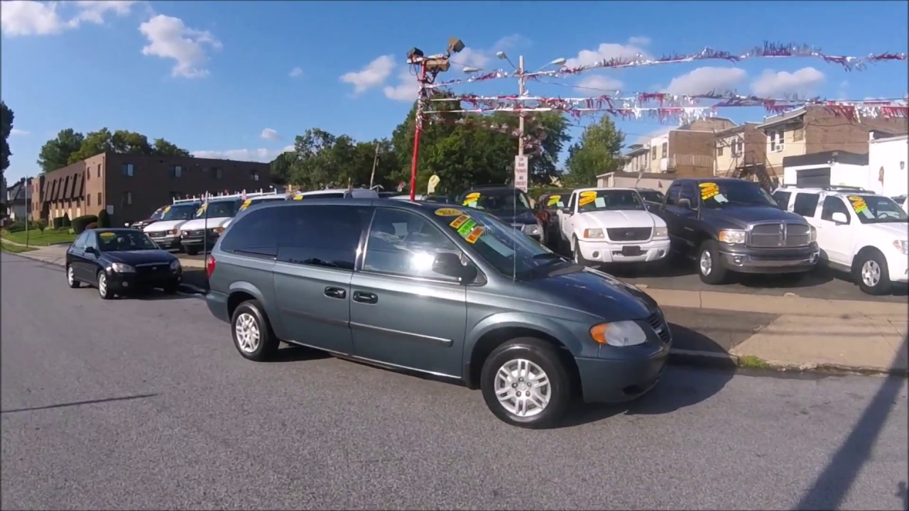 2006 Dodge Grand Caravan Green W Dvd Player And Stown N Go Seating
