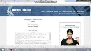 cara menambahkan lagu di blog