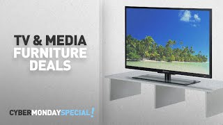 Top Cyber Monday TV Stands & Media Furniture Deals: Convenience Concepts Designs2Go Monitor Riser