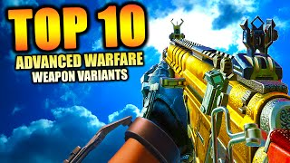 """Video Top 10 """"VARIANT WEAPONS"""" in ADVANCED WARFARE (Top Ten) Call of Duty   Chaos download MP3, 3GP, MP4, WEBM, AVI, FLV Agustus 2018"""
