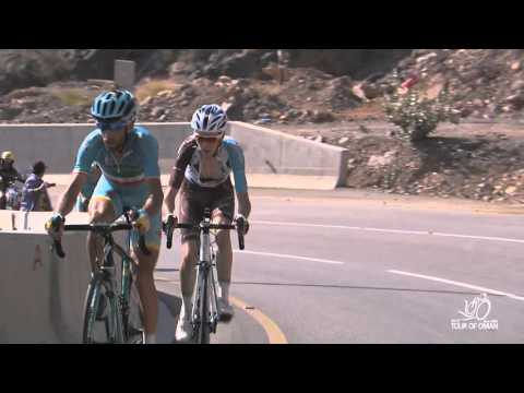 Last 2km - Stage 4 (Green Mountain) - 2016 Tour of Oman
