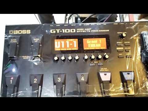 GT 100 Grani sesler (Elektro Bağlama İçin düzenlenen Sahne ve Düğün setleri)