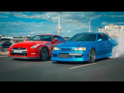 ВОЛОСЫ ДЫБОМ! Toyota Chaser 650 лс. КАК СОЖРАТЬ NISSAN GT-R и AUDI RS7