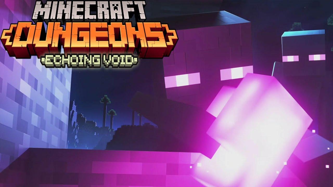 Minecraft Dungeons: Echoing Void DLC - Full Gameplay Walkthrough
