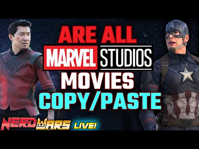 Are Marvel Studios Movies All The Same?! Is Denis Villeneuve Right? - NERD WARS - LIVE!