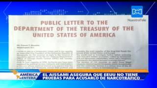 Con un fuerte anuncio en The New York Times, El Aissami le responde a las acusaciones de EE.UU.