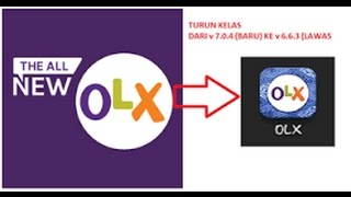 Gambar cover Tutorial OLX Versi Lama Di Android 100% WORK!!!