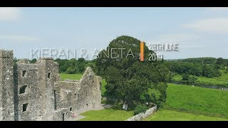 Kieran & Aneta Aerial Video Clip
