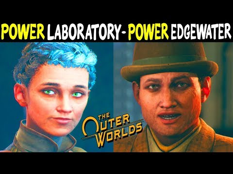 Redirect Power Edgewater Vs. Redirect Power To Botanical Laboratory - All Outcomes The Outer Worlds