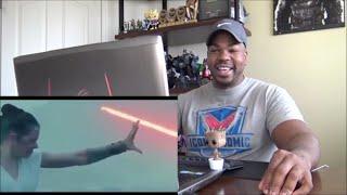 "STAR WARS: The Rise of Skywalker TV Spot ""Rey Freezes Kylo"" - Reaction!"
