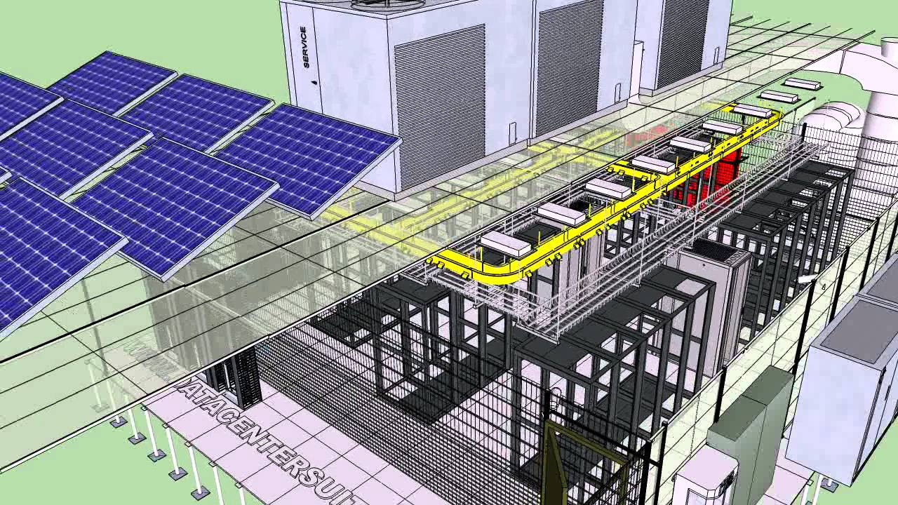 Datacenter dise o b sico modelamiento 3d datacentersuite for Diseno de interiores 3d data becker