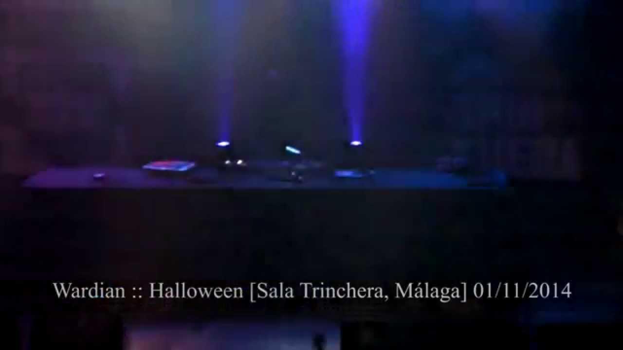 Wardian halloween 01 11 14 sala trinchera m laga for Sala trinchera