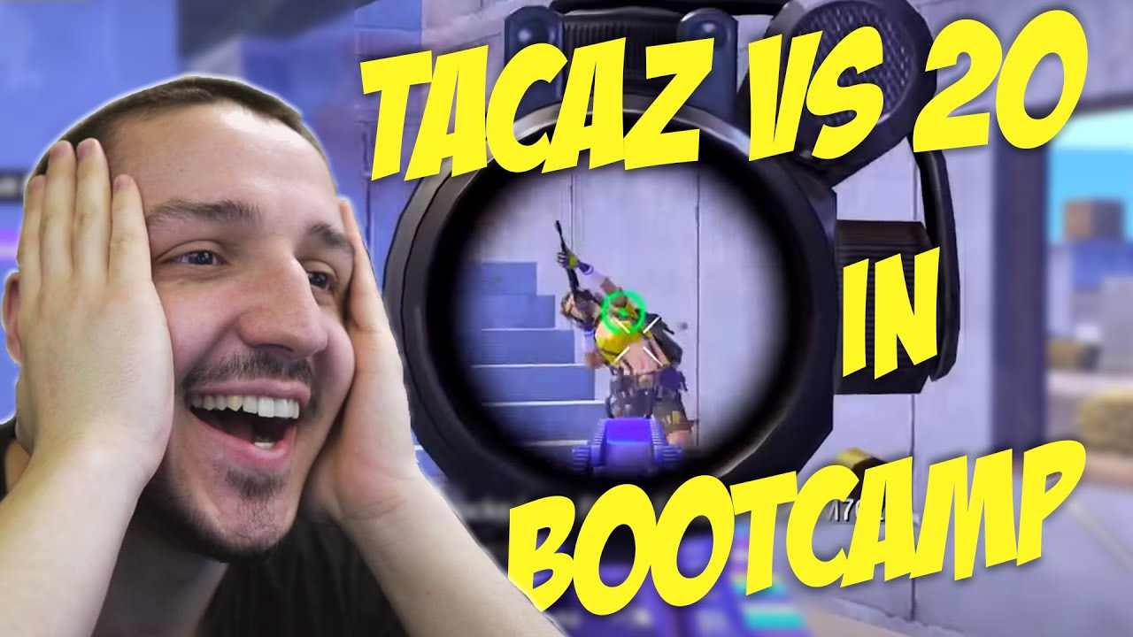 TACAZ a facut SPECTACOL in BOOTCAMP SOLO vs SQUAD - PUBG Mobile