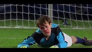 Лучший вратарь в мире СПАС свою команду!!!Очень смешное видео!!!//El mejor portero!