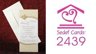 Sedef Cards © | 2439 | Popular Collection | Düğün Davetiyeleri | Wedding Invitation