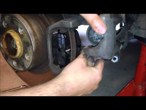 how to change brake sensor on 2010 x5
