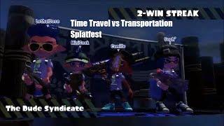 Splatoon 2 Time Travel vs  Teleportation Splatfest Gameplay