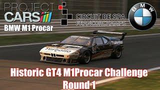 Project CARS Invitation : Historic GT4 M1Procar Challenge Round 1/4