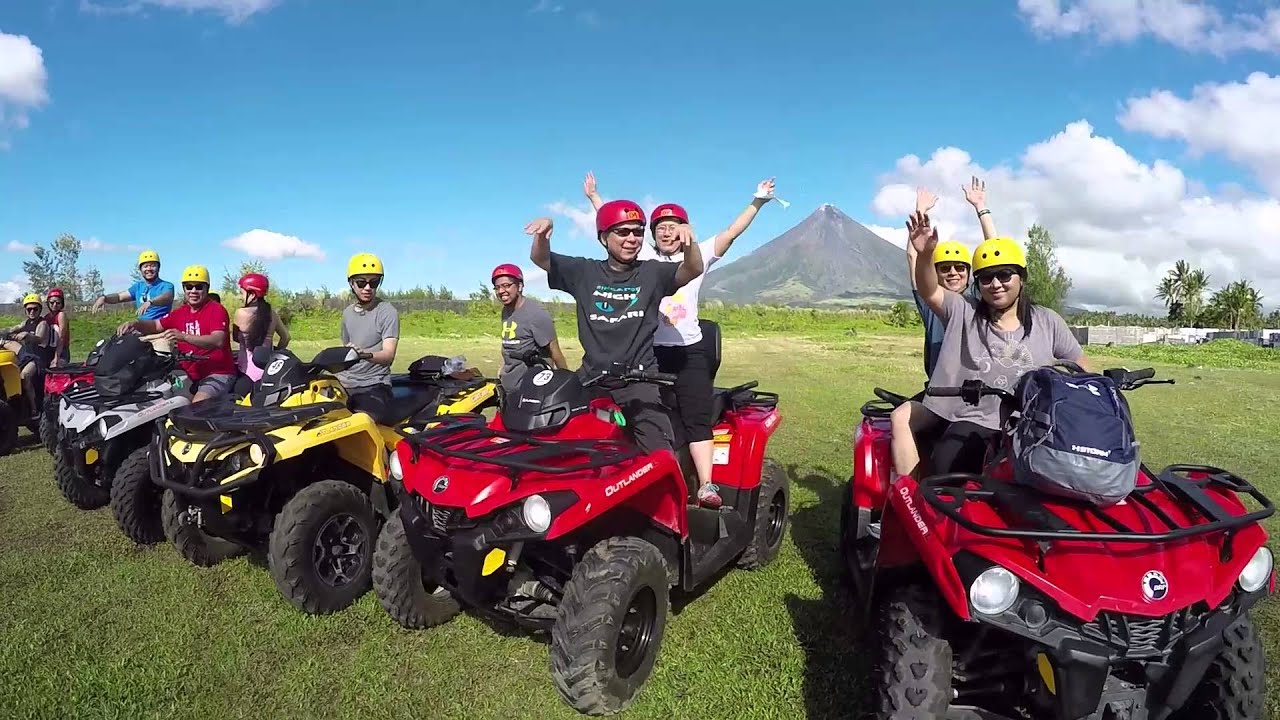 mayon volcano atv tour youtube. Black Bedroom Furniture Sets. Home Design Ideas