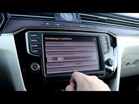 der neue VW Passat 8 Infotainment System - Das Radio - Discover Pro