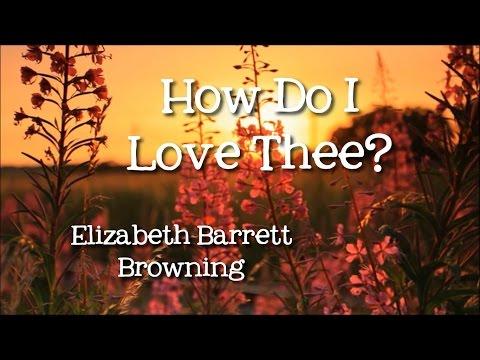How Do I Love Thee? (Sonnet 43) by Elizabeth Barrett Browning - Poems for Children, FreeSchool