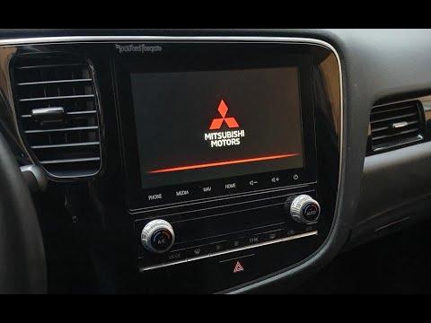Новая штатная магнитола(SDA) 2020 года на Mitsubishi Outlander III 2020. Навигация TomTom.