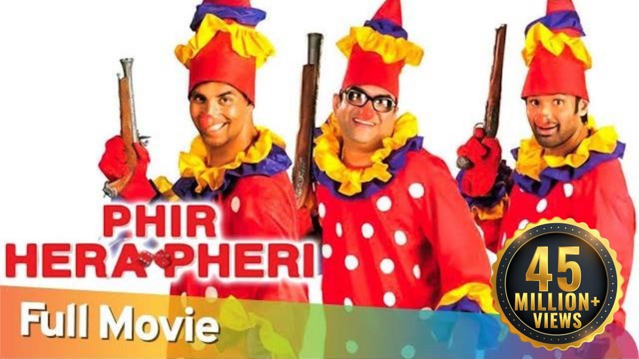 Download Phir Hera Pheri | Full Hindi Comedy Movie | Paresh Rawal -Akshay Kumar - Sunil Shetty - Rajpal Yadav