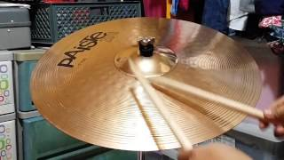 Paiste 201 Bronze Ride Cymbal 20""