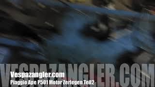 Piaggio Ape P501 Motor zerlegen Teil2