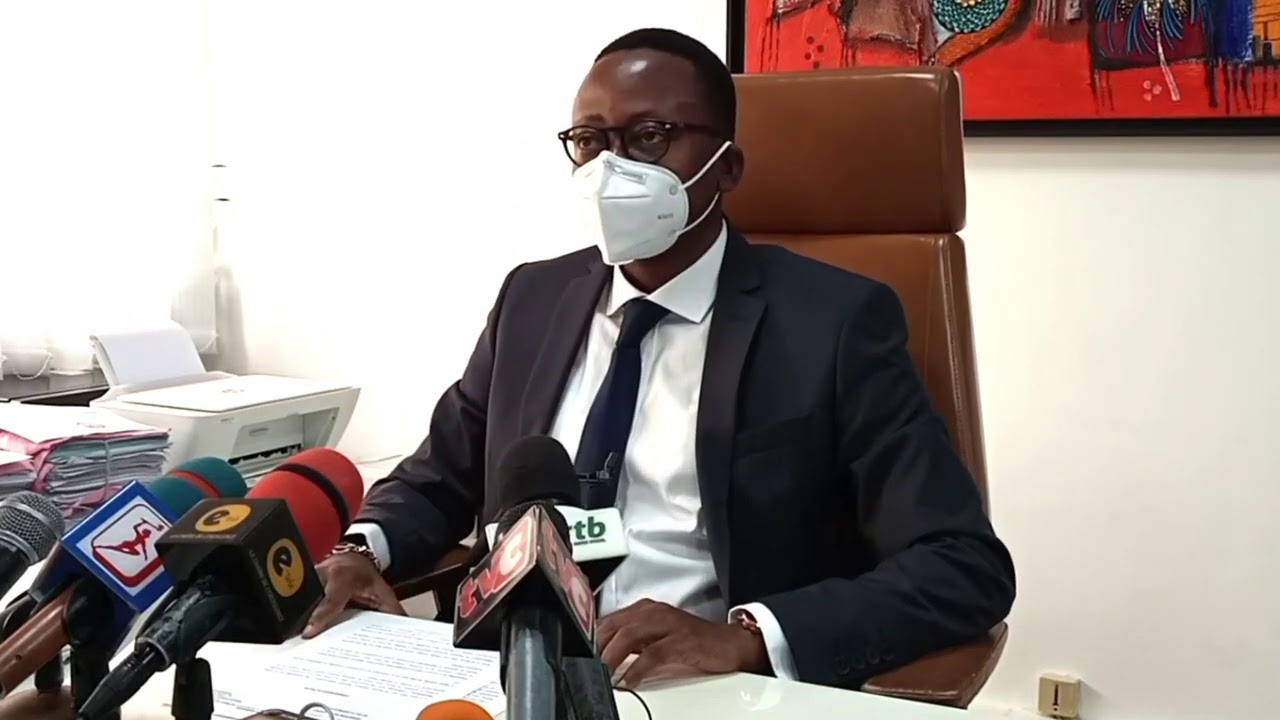 Point de presse de la CRIET au sujet de l'arrestation de Reckya MADOUGOU