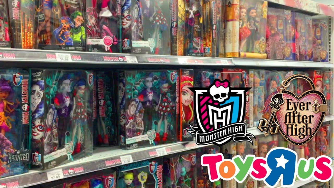 Ever After High Toys R Us : Monster and ever after high toys r us toy hunting youtube